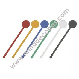 Stirrer with flat round head. 50 units