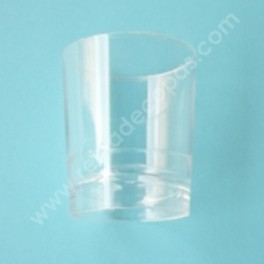 Plastic shot glass. 20 units