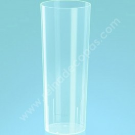 Plastic glass. 10 units