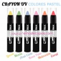 Barra Crayon UV - Colores Pastel