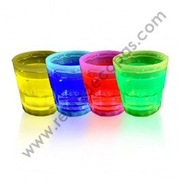 Glow shot glass
