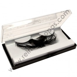 Side feather eyelashes