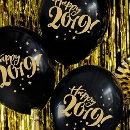 Globos Happy New Year. 6 uds
