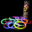 Bicolor glow bracelets.  100 pieces