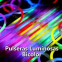 Bicolor glow bracelets. 500 pieces