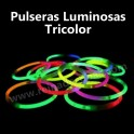 Glow bracelets. 3 colors. 100 pieces