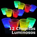 Chupitos luminosos. 12 uds