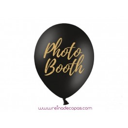 Photocall Black Balloons- 2 uds.