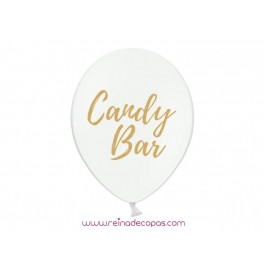 White Candy Bar Balloons - 2 uds.
