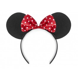 Headband Mouse Black And Red