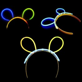 Hairband bunny ears. 10 pieces. Individually packaged