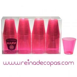 Plastic Shot Glasses. 60 units.