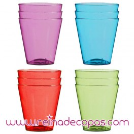Plastic Shot Glasses. 12 units.