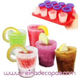Ice shot glasses. 12 units