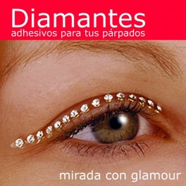 Diamond eyelid